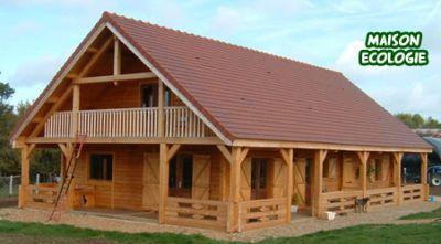 Immobiliers offres maisons en bois rondins prix for Maison rondin prix