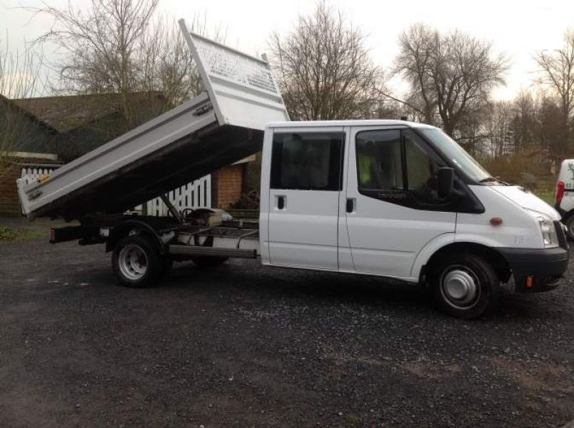 Don Camion benne ford transit