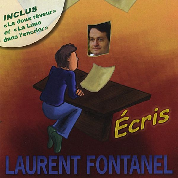 CD Album 'Ecris' de Laurent FONTANEL