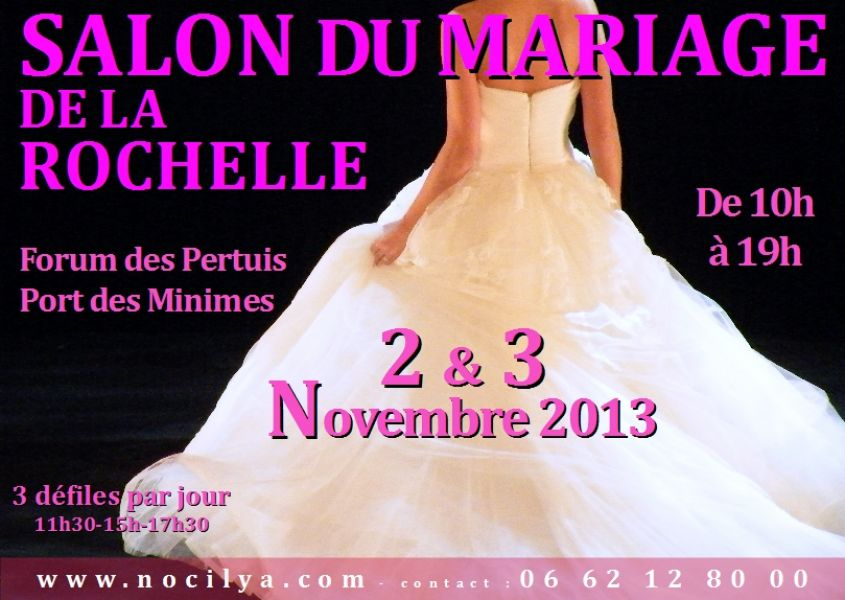 Salon du mariage de la rochelle 17 for Salon deco la rochelle