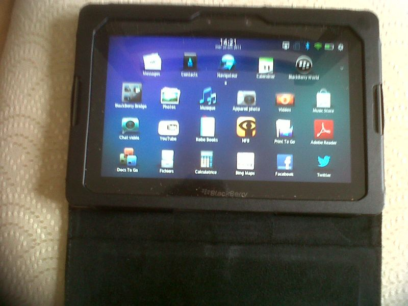 blackberry playbook tablette 16go wi fi ecran 7 39. Black Bedroom Furniture Sets. Home Design Ideas