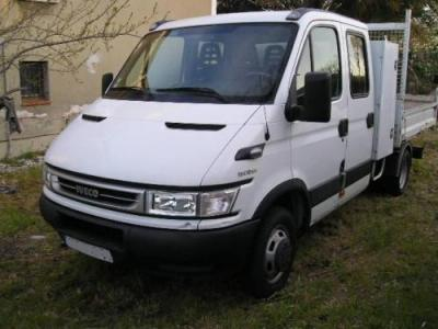 iveco daily 35c12d chassis cabine 2006. Black Bedroom Furniture Sets. Home Design Ideas
