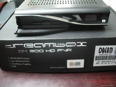 Dreambox Dream box DM 800 HD PVR SAT. disque dur 320GB    420€
