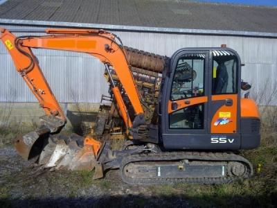 MINI PELLE DOOSAN - S 55 PLUS