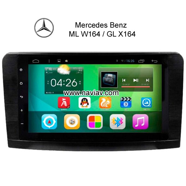 Mercedes Benz ML W164 GL X164 gps navi Mirrorlink 3G WIFI DVR OBDII TPMS
