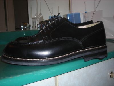 chaussures cuir intégral cousues main pointure 42