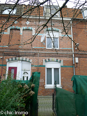 Lille ronchin maison 1930 3 ch jardin tvx for Decoration maison 1930 lille