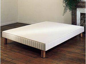 sommier tapissier lattes 40. Black Bedroom Furniture Sets. Home Design Ideas