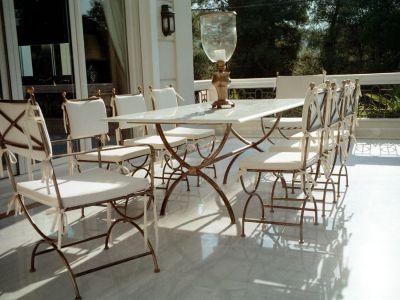 Salon de jardin fer forg mobilier de jardin coussins pour vos fauteuils de jardin meubles de jardin - Mobilier de jardin en fer forge ...