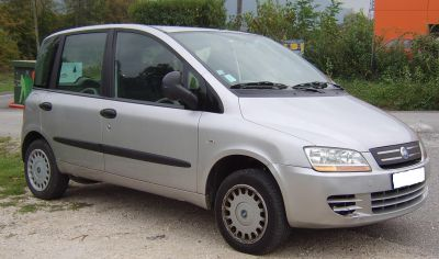 FIAT MULTIPLA 1.6L NATURAL POWER