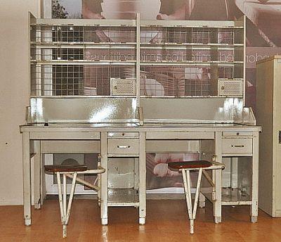 meuble de tri postal ann es 60 bureau de la plagne. Black Bedroom Furniture Sets. Home Design Ideas