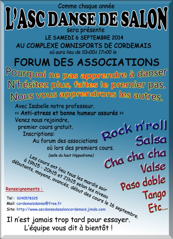 Cordemais Forum des associations le 6 septembre 2014