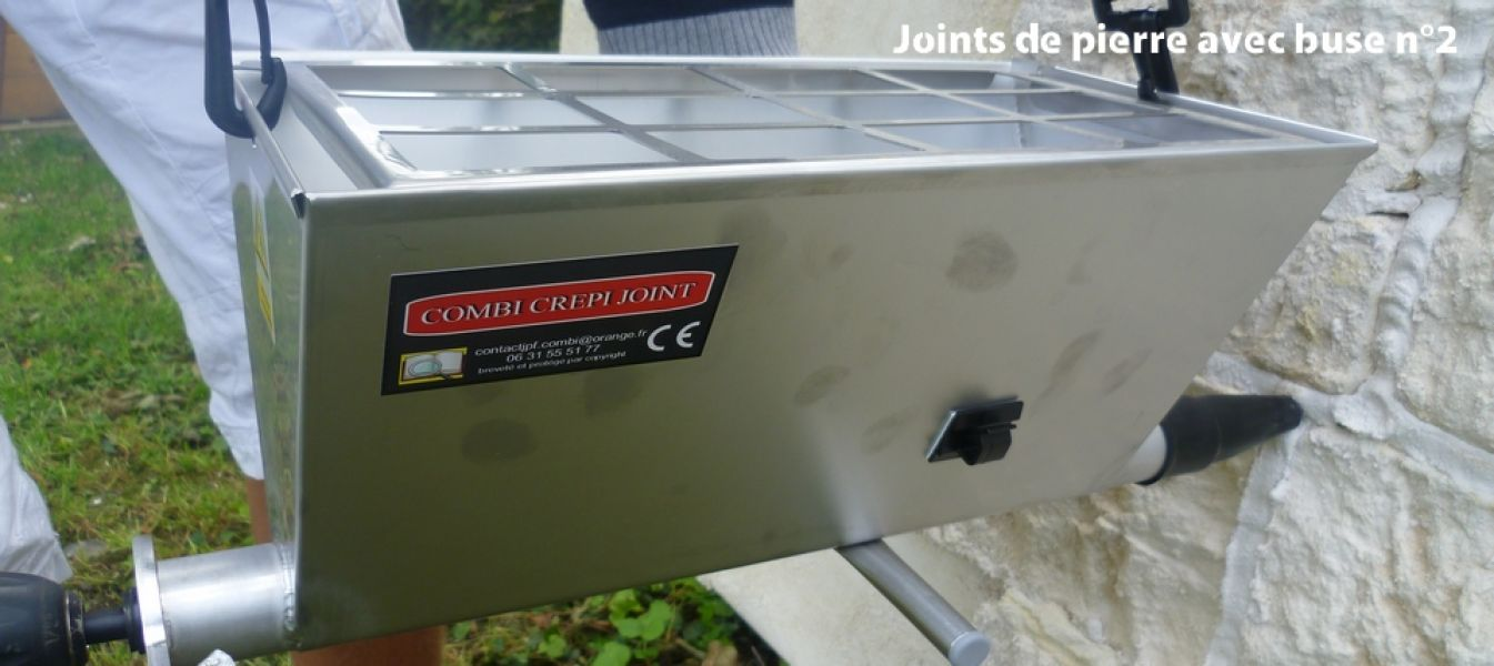 Combi Crépi Joint : Machine à jointoyer et à crépir