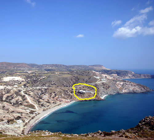 Greece Cyclades island milos rent studio/apartment/villa  for 2/4/6/8 person