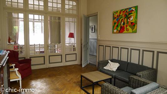 Lille maison bougeoise 250m2 hab jardin garage for Bon garage lille