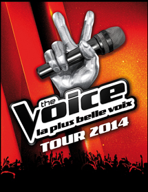 The Voice Tour 2014 � Nice le 15 Juin