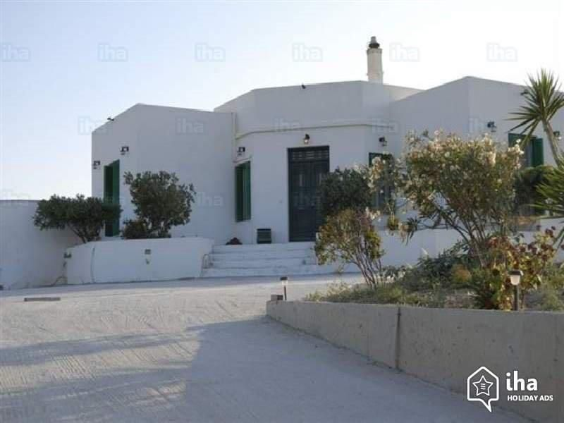 Greece Ciyclades island Milos  rent villa for 6/8/10 person