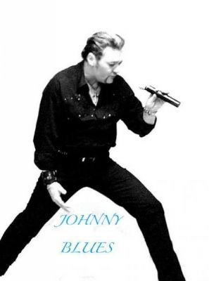 JOHNNY HALLYDAY le  sosie JOHNNY BLUES