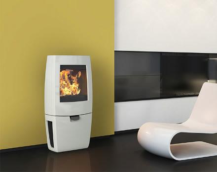po le a bois dovre sense 200. Black Bedroom Furniture Sets. Home Design Ideas